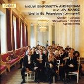 Live in St. Petersburg by Nieuw Sinfonietta Amsterdam