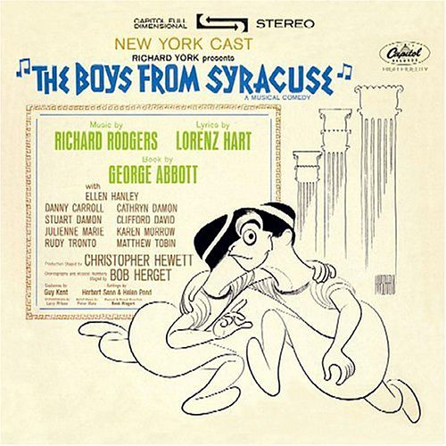 The Boys from Syracuse [1963 Off-Broadway Revival Cast] by Various Artists