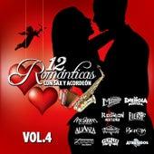 Románticas Con Sax y Acordeon, Vol. 4 by Various Artists