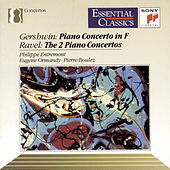 Gershwin: Concerto in F; Ravel: Piano Concertos by Various Artists