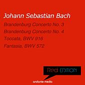 Red Edition - Bach: Brandenburg Concerti Nos. 3, 4 & Toccata, BWV 916 by Various Artists