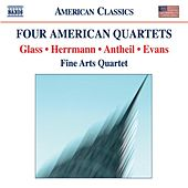 EVANS, R.: String Quartet No. 1 / GLASS, P.: String Quartet No. 2 / ANTHEIL, G.: String Quartet No. 3 / HERRMANN, B.: Echoes von Fine Arts Quartet
