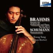 Brahms: Sonatas for Violoncello and Piano No .1 & No. 2, Schumann: Fantasiestucke by Aviram Reichert