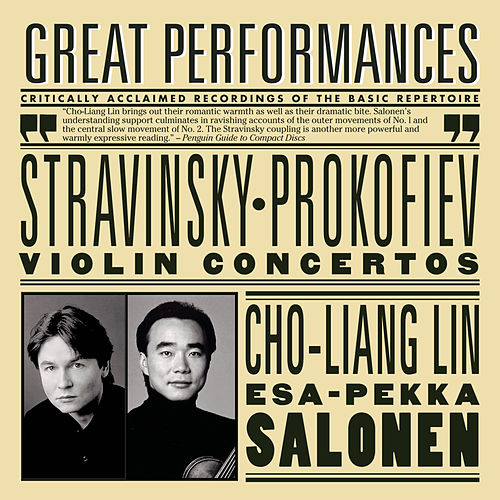 Prokofiev and Stravinsky Violin Concertos by Los Angeles Philharmonic Orchestra