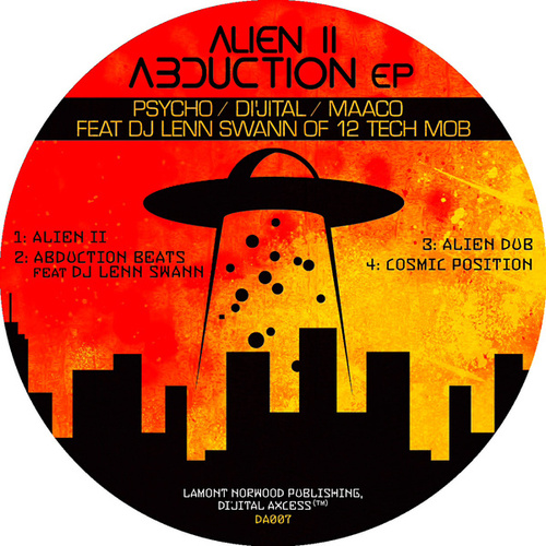 Alien II Abduction EP by DJ Dijital