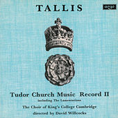 Tallis: Tudor Church Music II (Lamentations of Jeremiah) by Various Artists