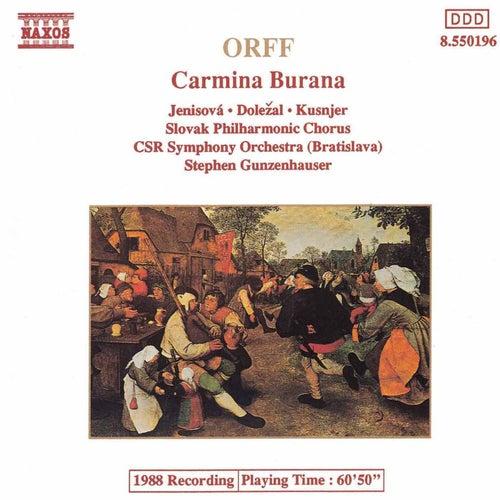 Carmina Burana (Naxos) by Carl Orff