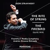 Stravinsky: The Rite of Spring & The Firebird by Radio-Sinfonie-Orchester Frankfurt