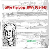 Bach: Little Preludes, BWV 939-943 by Various Artists