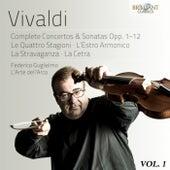 Vivaldi: Complete Concertos & Sonatas Opp. 1-12, Vol. 1 by L' Arte dell'Arco