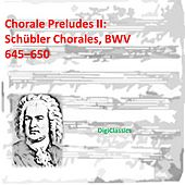 Bach: Choral Preludes II: Schubler Chorales, BWV 645-650 by Various Artists