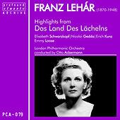 Franz Lehár: Highlights from Das Land Des Lächelns by Erich Kunz