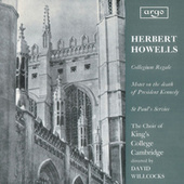 Howells: Te Deum and Jubilate (Collegium Regale); Vaughan Williams: Three Shakespeare Songs by Various Artists