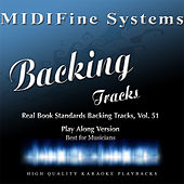Real Book Standards Backing Tracks, Vol. 51 (Playalong Version) by MIDIFine Systems