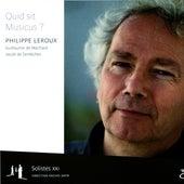 Quid sit Musicus by Solistes XXI