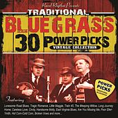 30 Traditional Bluegrass Power Picks: Vintage Collection by Various Artists