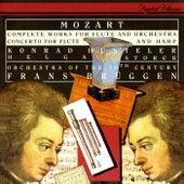 Mozart: Complete Works For Flute & Orchestra; Concerto For Flute & Harp by Frans Brüggen