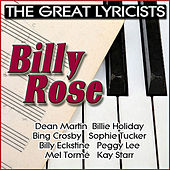 The Great Lyricists: Billy Rose von Various Artists