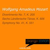 Orange Edition - Mozart: Divertimento No. 7, K. 205 & Symphony No. 41, K. 551 by Various Artists