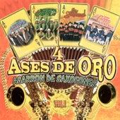 4 Ases De Oro Agarron De Saxofones, Vol. 1 by Various Artists