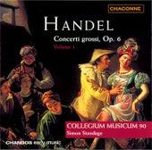 HANDEL: Concerto Grossos, Op. 6, Vol. 1 by Simon Standage