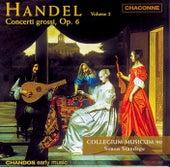 HANDEL: Concerto Grossos, Op. 6, Vol. 2 by Simon Standage