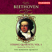 BEETHOVEN: String Quartets, Vol. 1 by Borodin String Quartet