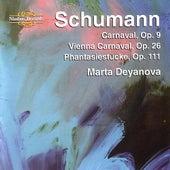 Schumann - Carnaval,Op.9,Vienna Carnaval, Op.26, Phantasiestücke, Op.111 by Marta Deyanova