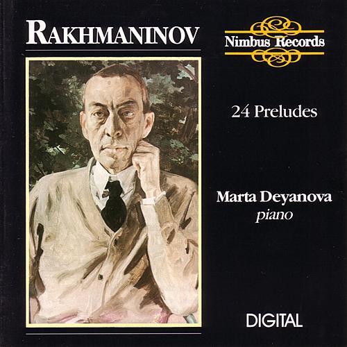 Rakhmaninov: 24 Preludes by Marta Deyanova