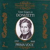 Prima Voce: Great Singers In Donizetti by Various Artists