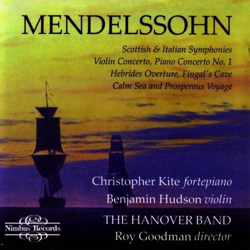 Mendelssohn: Symphonies 3&4, Violin & Piano Concertos by The Hanover Band