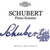Schubert: Piano Sonatas, Marta Deyanova by Marta Deyanova