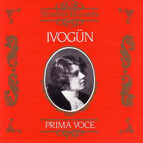 Prima Voce - Ivogün by Maria Ivogün