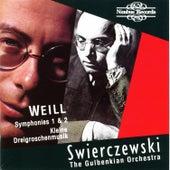 Weill: Symphony Nos. 1 & 2 and Kleine Dreigroschenmusik by Gulbenkian Orchestra