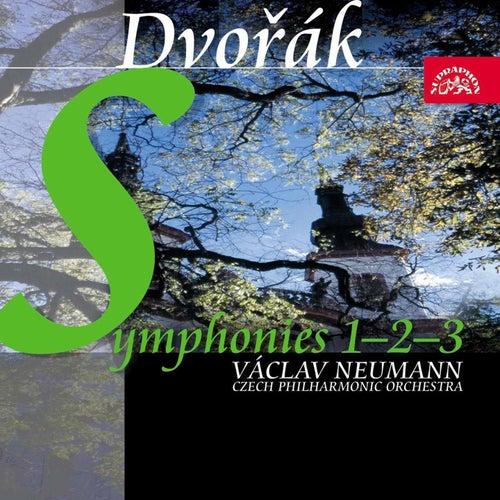 Dvořák: Symphonies Nos 1-3 / Czech PO, Neumann by Czech Philharmonic Orchestra