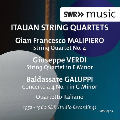 Italian String Quartets by Quartetto Italiano