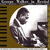 George Walker in Recital by George Walker