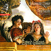 l'Esprit Galant - Boësset, Gautier, Pinel, Lambert, et al. by Johannette Zomer