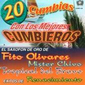 20 Cumbias Con Los Mejores Cumbieros by Various Artists