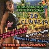20 Cumbias Musica Para Todas las Fiestas Del Ano by Various Artists