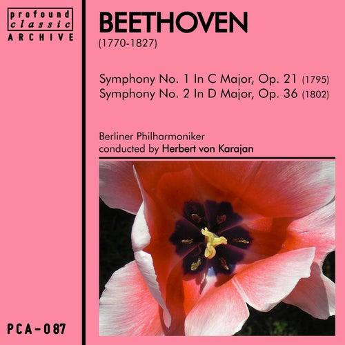 Beethoven: Symphonies No. 1 & No. 2 by Berliner Philharmoniker