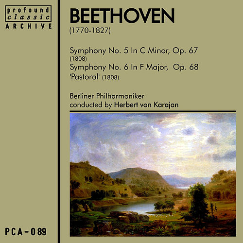 Beethoven Symphonies No. 5 & No. 6 by Berliner Philharmoniker