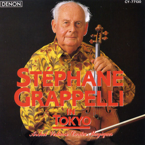Stephane Grappelli in Tokyo by Stephane Grappelli