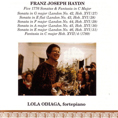 Haydn 1776 Sonatas by Lola Odiaga