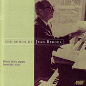 The Songs of Jean Berger by Melanie Emelio