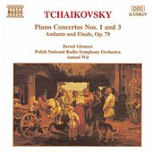Piano Concertos Nos. 1 and 3 by Pyotr Ilyich Tchaikovsky