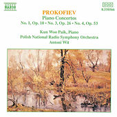 Piano Concertos Nos. 1, 3 and 4 by Sergey Prokofiev