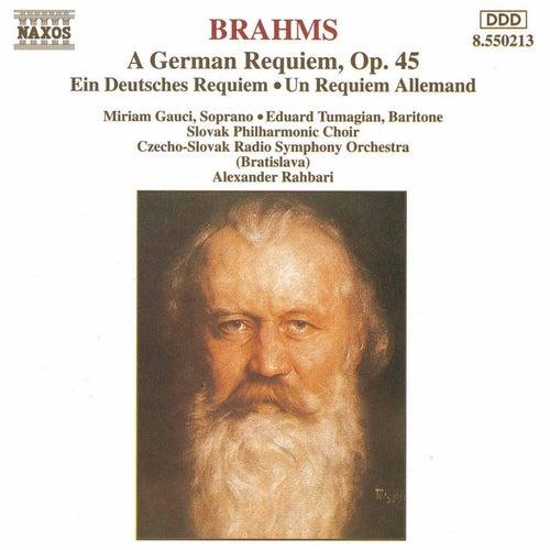 A German Requiem by Johannes Brahms