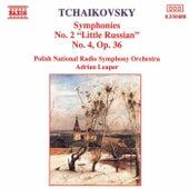 Symphonies Nos. 2 and 4 by Pyotr Ilyich Tchaikovsky