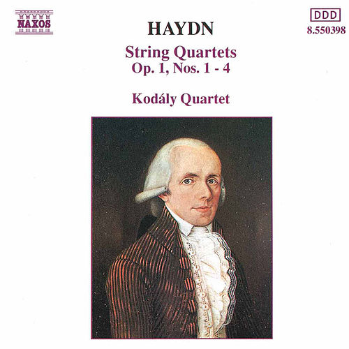 String Quartets Op. 1, Nos 1-4 (unpublished) by Franz Joseph Haydn